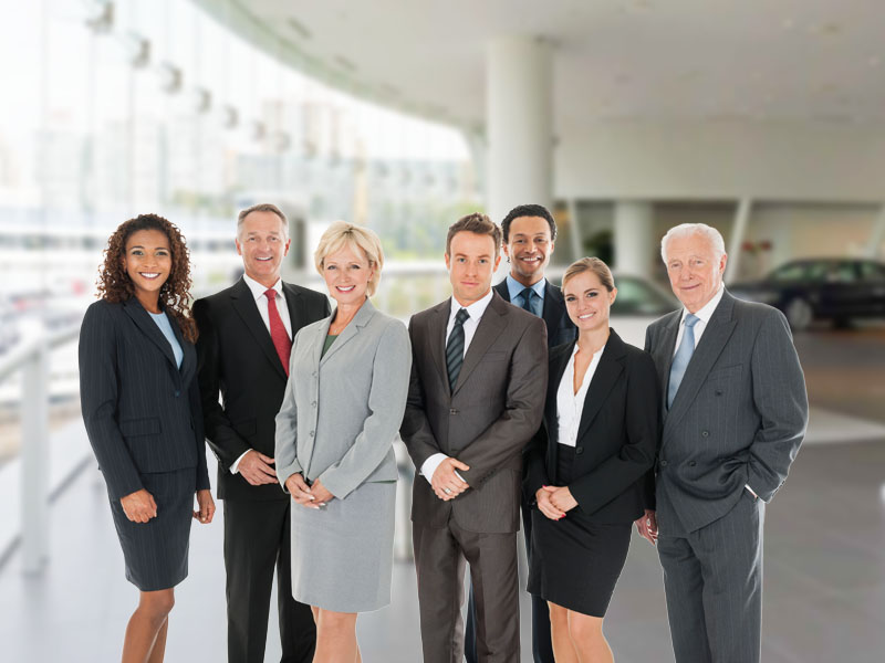 Group of business people symbolizing 20-groups