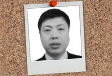 Photo of HGS team member Zhang Songqi