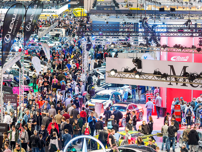 """Essen Motor Show"" car trade fair"