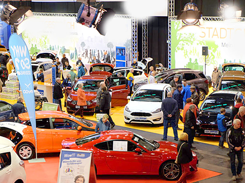 """Autosalon"" Car fair in Chemnitz"